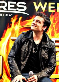 Josh  interview vibe movie the Hunger Games
