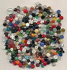 ANTIQUE BUTTONS - HUGE LOT OF TINY GLASS BUTTONS LESS THAN 1/2 INCH - ANTIQUE, BUTTONS, Glass, HUGE, INCH, LESS, THAN, TINY
