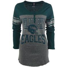 75bf09871 Ocean Women s Long-Sleeve Philadelphia Eagles Henley Men - Sports Fan Shop  By Lids - Macy s