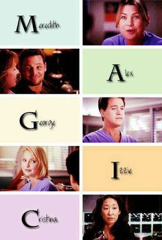 MAGIC | Grey's Anatomy | Meredith Grey, Alex Karev, George O'Malley, Izzie Stevens and Cristina Yang