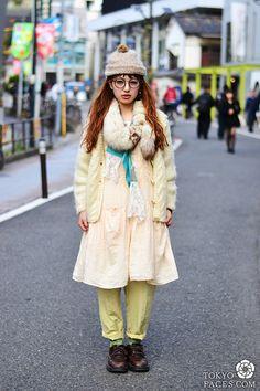 Name: Kaori  Head to Toe: Rainbow Vintage