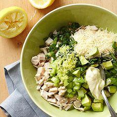 Lemon-Avocado Chicken Salad