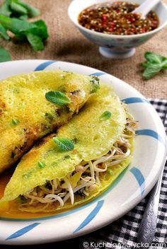 Wegańskie naleśniki ryżowe © KuchniaAzjatycka.com