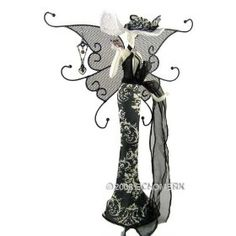 Image detail for -Jewelry Stand – Butterfly Lady With Wing & Hat- Doll Dress Form ...