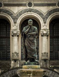 Ovidius statue - Romania - Ovidiu Square (Constanta).