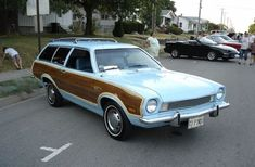 1973 Ford Pinto Station Wagon but in PINK for my Kelly Ford Pinto, Station Wagon Cars, Ford Lincoln Mercury, Ford Classic Cars, Old Fords, Us Cars, Race Cars, Car Ford, Ford Motor Company