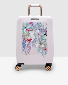 Hanging Garden large suitcase - Nude Pink   Bags   Ted Baker UK