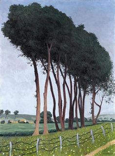 Famille d'arbres (1922), by Félix Vallotton (1865-1925).