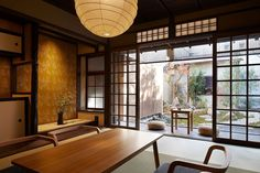 Blending Japanese traditional and modern architecture, this Kyoto guest house is a quiet stunner | News | Archinect #japanesearchitecture