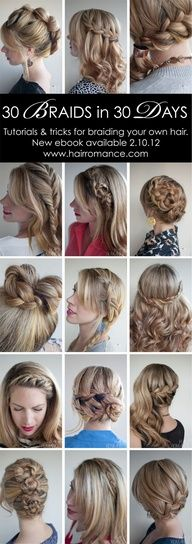 will have to see how many I can really do..             Really want to learn to do these on Cams hair