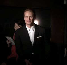 Here are some NEW fan pics of Sam Heughan at a fan event in Japan More after the jump!