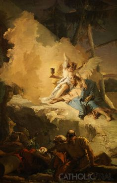 Agony in the Garden – Giovanni Battista Tiepolo