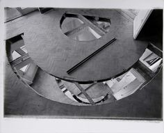 Office Baroque by Gordon Matta-Clark, 1977 Gordon Matta Clark, Texture Words, Derelict Buildings, Study Architecture, Whitney Museum, Arte Popular, Land Art, American Artists, Installation Art