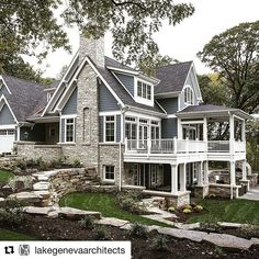 #Repost @lakegenevaarchitects ・・・ Hello Instagram! We are so excited to begin sharing images of our homes we have designed! We hope you enjoy our architectural style.