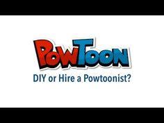 Should you make a Powtoon yourself or hire a Powtoonist?