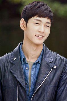 Biker Jacket his way. This is Lee Won Geun from Cheer Up. Park Hae Jin, Park Hyung, Park Seo Joon, Lee Hyun Woo, Lee Jong Suk, Lee Dong Wook, Lee Joon, Korean Star, Korean Men