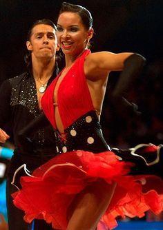 dancesport - latin dresses -I like halterneck dresses too