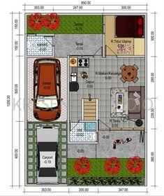 denah rumah minimalis 2 lantai type 120 | ideas for the