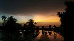 Sunset. Cartagena, Colombia.