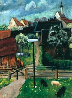 Gabriele Münter Murnau (Murnau in May) 1924