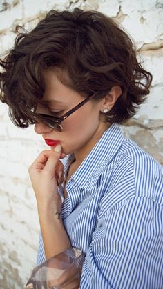 short curly pixie haircut 2016 More