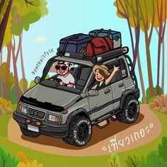 Suzuki vitara Green Military army thailand #SUZUKI_SIDEKICK#adventure #suzuki #vitara #4x4 #fourwheel#mini#build #4x4life #offroad#Thailand Suzuki Vitara Jlx, Sidekick Suzuki, 4x4, Military Army, Bobbers, Brand Identity, Cars And Motorcycles, Offroad, Toyota