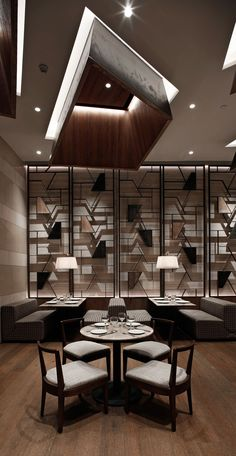BTR workshop completes simplylife flagship restaurant interiors in shenzhen