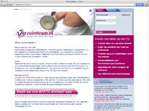 Webapplicatie voor Verzuimteam.nl