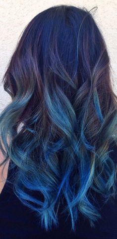 HOW TO: Old School Ombre To New School Blue Color Melt