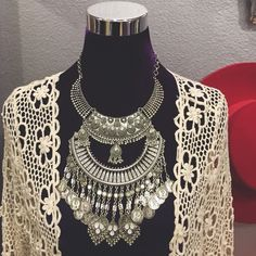 [FP Boho Stacked Necklace] New (S014) Price neg. trades Free People Jewelry Necklaces