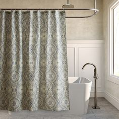 Tommy Bahama Turtle Cove Shower Curtain By