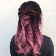 Beautiful hair color #pinkcolor #haircolor #inspirations