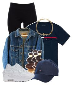"""""""Untitled #2846"""" by alisha-caprise ❤ liked on Polyvore featuring Helmut Lang, Hilfiger and ASOS"""