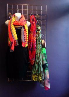 #new #neon #scarves