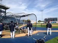 Video: ARod' first swings of Spring Training. By Mark Feinsand Yankees Spring Training, Under Construction, Swings, Basketball Court, Sports, Hs Sports, Rope Swing, Sport, Swing Sets