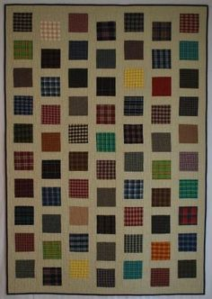 good scrappy quilt, especially for charity
