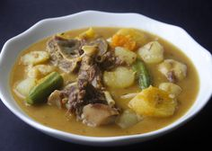 Learn how to make an easy and delicious Caribbean version of beef soup and dumplings. This is a meal in itself.