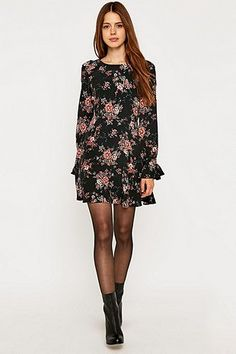 Pins & Needles Frill Sleeve Dress - Urban Outfitters