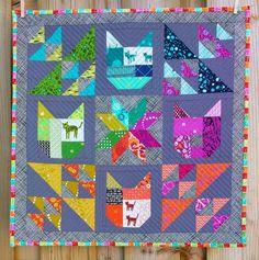 Stuff I made: Rainbow kitties return! xxx