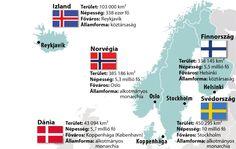 Észak-Európa - Földrajz 7-8. osztály VIDEÓ - Kalauzoló - Online tanulás Helsinki, Oslo, Stockholm, Map, Location Map, Maps
