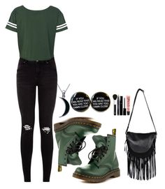 """""""~We Make Plan Just To Make Plans But We Never Keep Them~"""" by tiffanymejia ❤ liked on Polyvore featuring Dr. Martens, Carolina Glamour Collection, River Island and Boohoo"""
