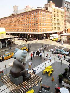Kaws @ Standard NYC