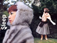 イメージ 5 My Youth, Japanese Fashion, Winter Hats, Sleep, My Style, Fantasy Girl, Costumes, Girls Girls Girls, Japan Fashion