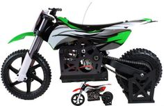 Get one of this  hottest MX400 RTR motocross bike by Himoto Racing. It is fully-packed wwith cool features like a gyro burstout system  550 type brushed motor & superb ESC delivering a top speed at 30mph.