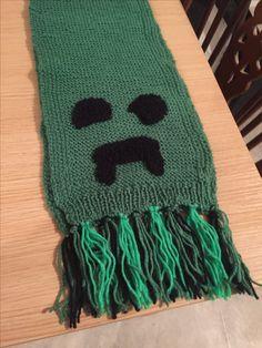 Minecraft child's scarf