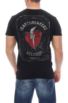 Religion Herren T-Shirt Shirt Kurzarmshirt HEART BRAEKER - B2116HBF02 in Vêtements, accessoires, Hommes: vêtements, T-shirts | eBay