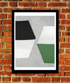 Hexagon or two? Beautiful print from Seventy Tree.Size: - x Material: acid free archival paper with a small white border Unframed Limited Edition Prints, Green And Grey, Framed Art Prints, Home Art, Abstract, Artist, Customer Support, Beautiful, A3