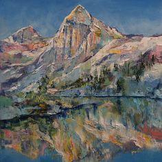 Mountain Lake Art Print - Michael Creese