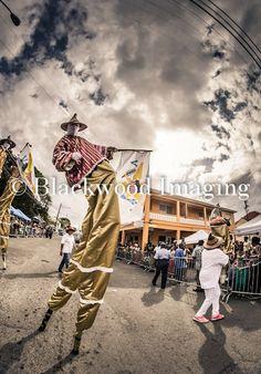 Guardians of Culture, St. Croix Mocko Jumbie, Crucian Christmas Festival Adult Parade, St. Croix USVI