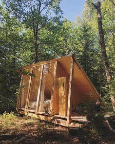 11 Amazing Backyard Storage Shed Design Ideas Shed To Tiny House, Tiny House Cabin, Tiny House Design, Cabin Design, A Frame Cabin, A Frame House, Storage Shed Designs Ideas, Design Ideas, Design Design